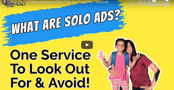what are solo ads