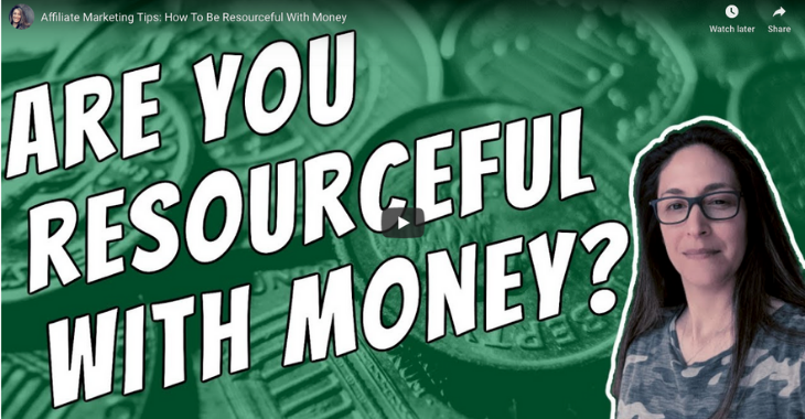 are you resourceful with money