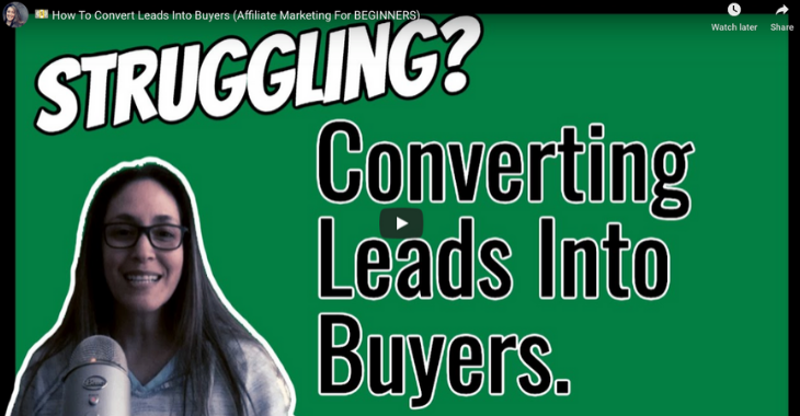 converting leads to buyers